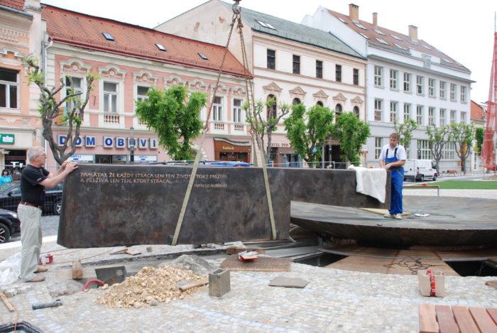 Fontana MA stena