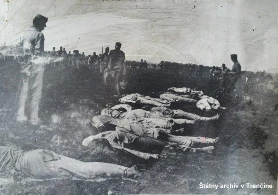 Po poprave 44 príslušníkov 71. pešieho pluku v Kragujevaci 8. 6. 1918