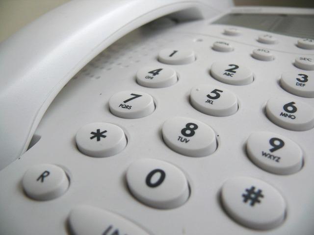 telefón pevná linka