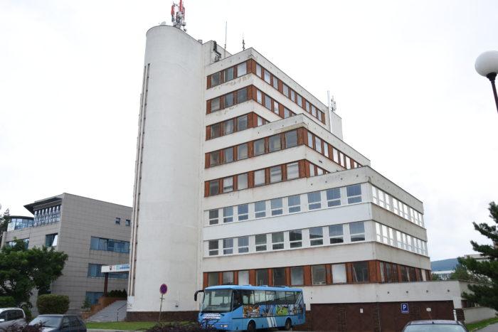 budova športového gymnázia a gymnázia FUTURUM