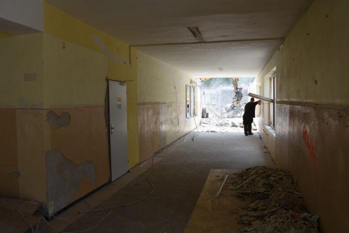 rekonštrukcia spojovacej chodby