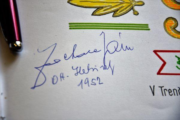 jan zachara podpis