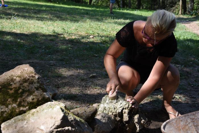 čistenie kameňov