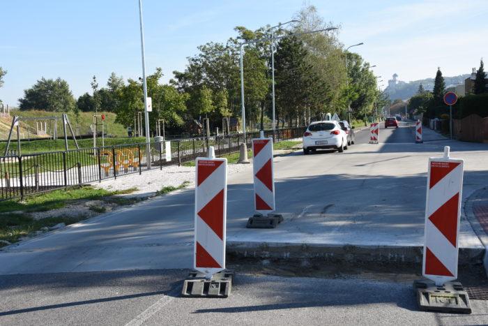 úprava na nájazdy na Karpatskej ulici