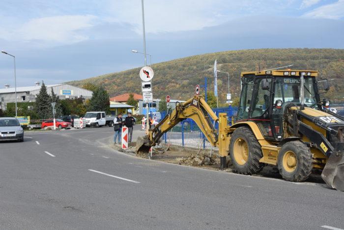 nový chodník na Kasárenskej