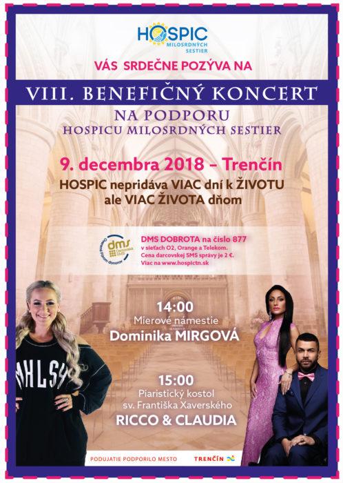 plagat koncert pre hospic