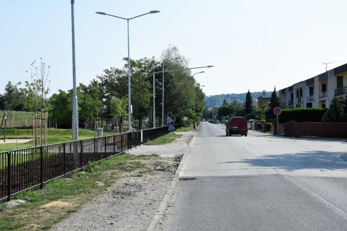 na Karpatskej bude cyklotrasa
