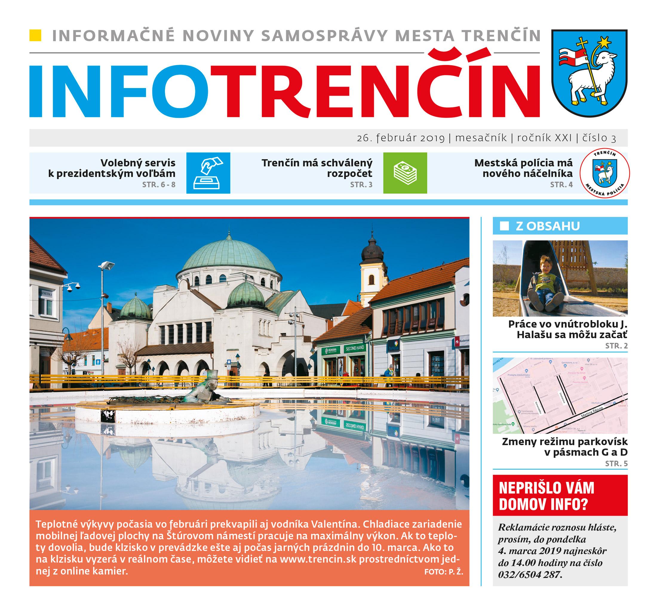 Noviny INFO Trenčín » Mesto Trenčín 99da317366a