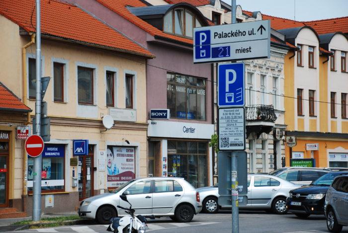 parkovisko Palackého