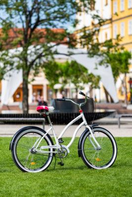 zdieľabé bicykle