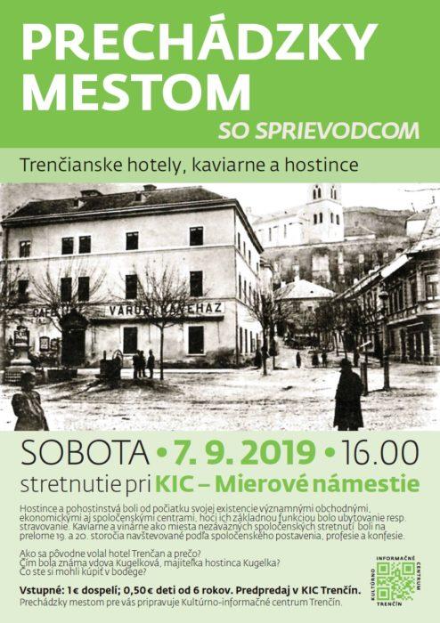 09_Trenčianske hostince, kaviarne a hotely