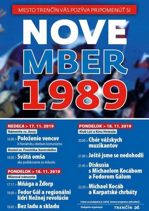 November 89 plagát