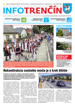 INFO Trenčín - august 2020
