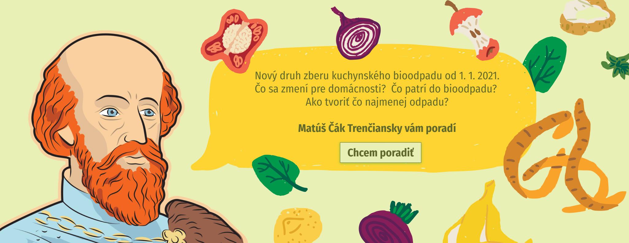 odkaz na webstranku trencinrecykluje.sk o zbere biologickeho kuchynskeho odpadu