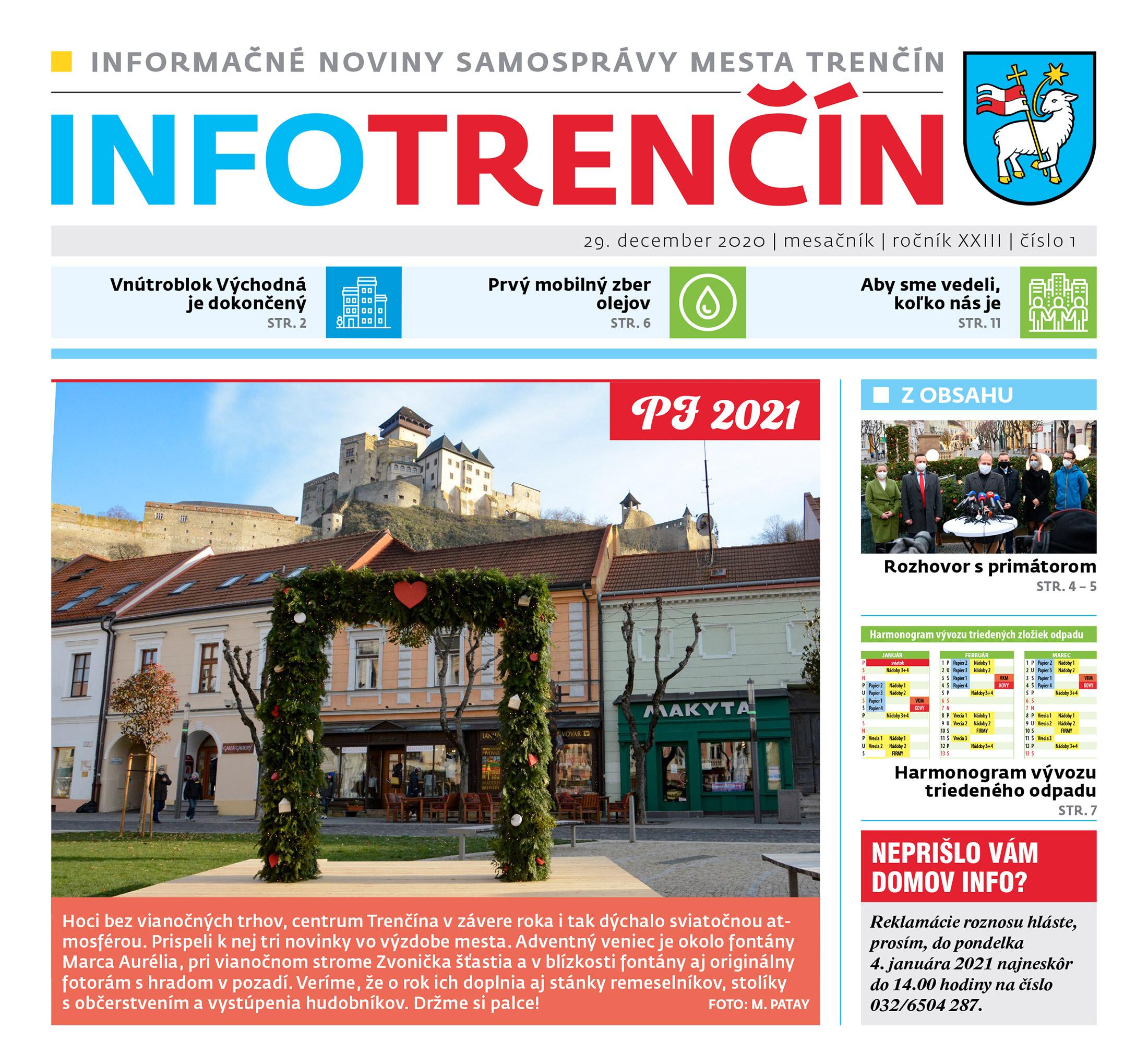INFO Trenčín - január 2021