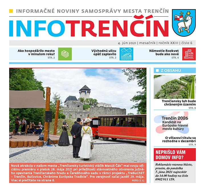 INFO Trenčín - jún 2021