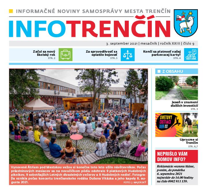 INFO Trenčín - september 2021